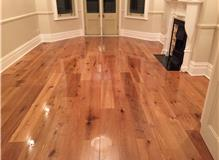 Install engineered oak