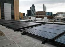 Hotel Installation - London - LaZerII panels