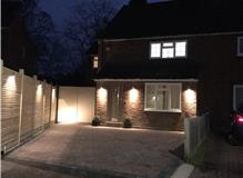 Sunningdale external lighting