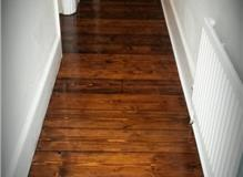 Pine stained with Walnut wood stain