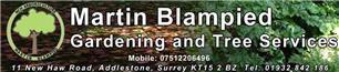 Martin Blampied Tree Surgery & Garden Services