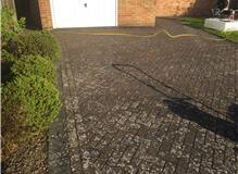 Jet wash and re sand driveway