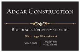 Adgar Construction, Building and Property Maintenance