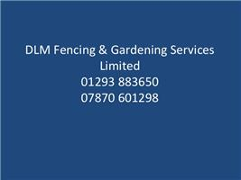DLM Fencing & Gardening Services Limited
