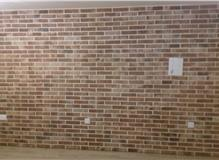 Brick Slip Tiles As A Feature Brick Wall Tiling