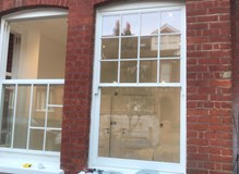Sash window hardwood