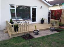Decking in West Moors