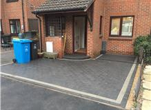 Block paved frontage