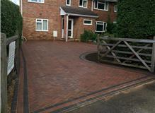 Completed Driveway.