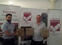 Anthony Withey receiving 3 Marshalls Awards  for 2014