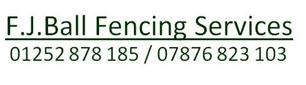 F J Ball Fencing & Hard Landscaping
