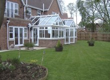 Large Gable End Conservatory