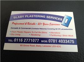 Blaby Plastering Services