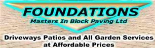Foundations Masters In Block Paving Limited