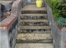 Resin bound steps