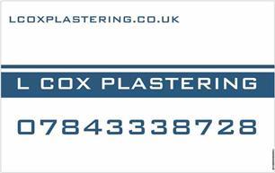 L Cox Plastering