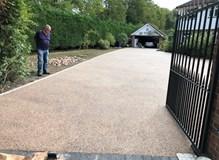 Pavilion paving