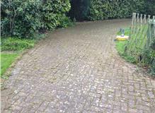 old Blockpaving driveway