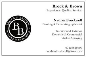 Brock & Brown Decorating