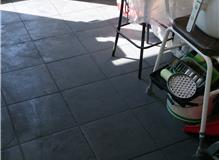 Tiled kitchen floor (Luton)