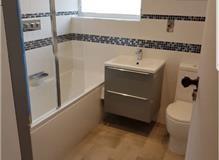 Full bathroom and WC reconfiguration and refurbishment