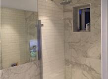 Bathroom reconfiguartion complete