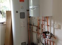 Boiler installation / megaflo instalation