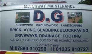 D G Bricklaying Groundworks And Landscaping