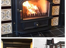 Clearview Vision Inset, adjustments to original fireplace & flexible flue liner system
