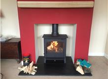 ACR Earlswood Multifuel Stove, Flexible Flue Liner System & Fireplace Alterations