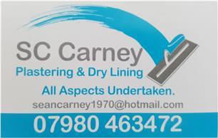 S C Carney Plastering & Drylining