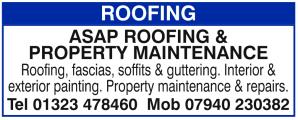 ASAP Roofing & Property Maintenance
