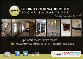 Sliding Door Wardrobes by Chris & Gary Ford