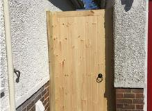 new frame and gate