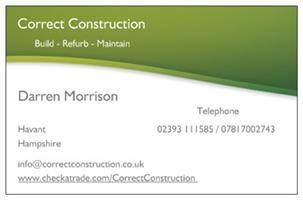 Correct Construction Ltd