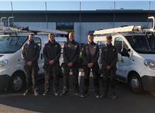 Team Whitfield - Jake, Lee, George, Harry & Spencer
