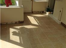 Utility Floor Tiled & Grouted (After)