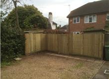 Closedboard and new gate