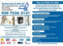 Market Lock and Safe Ltd