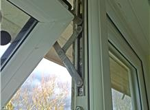 Replacing UPVC hinges