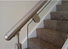 Toughened glass balustrades
