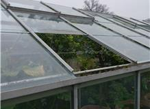 Greenhouse roof repair