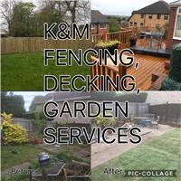 K & M Fencing & Gardening Services