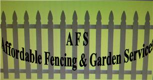 AFS Affordable Fencing & Garden Services