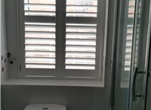 Waterproof bathroom shutter Romsey - The Great Shutter Co.