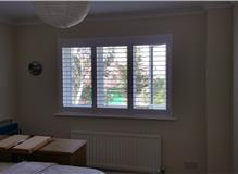 Bedroom Plantation Shutter Romsey The Greats Shutter Co.