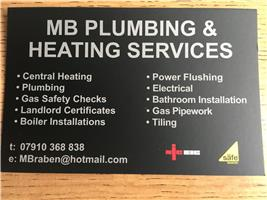 MB Plumbing and Heating Services