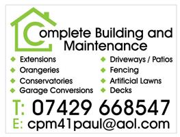 Complete Building and Maintenance