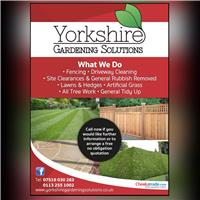 Yorkshire Gardening Solutions