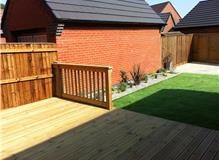 Work undertaken by Outback Landscapes based in Leicester
